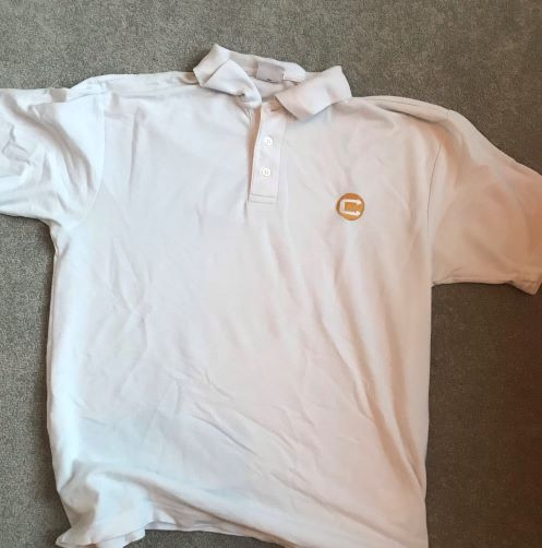 Charter North Polo Shirt S marked