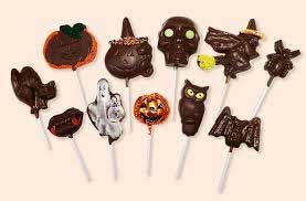 Chocolate lollies for a party