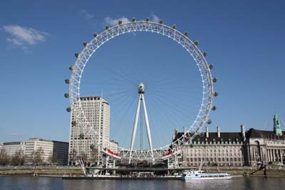 Blind auction - London Eye tickets (5 tickets)
