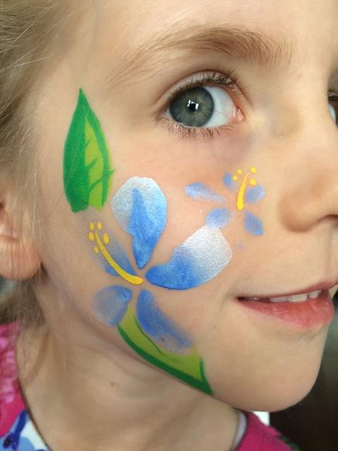 Face painting for a party