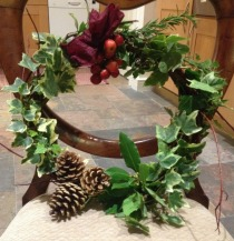 CHRISTMAS WREATH MAKING EVENING