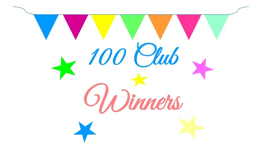 100 Club winners July and August 2019