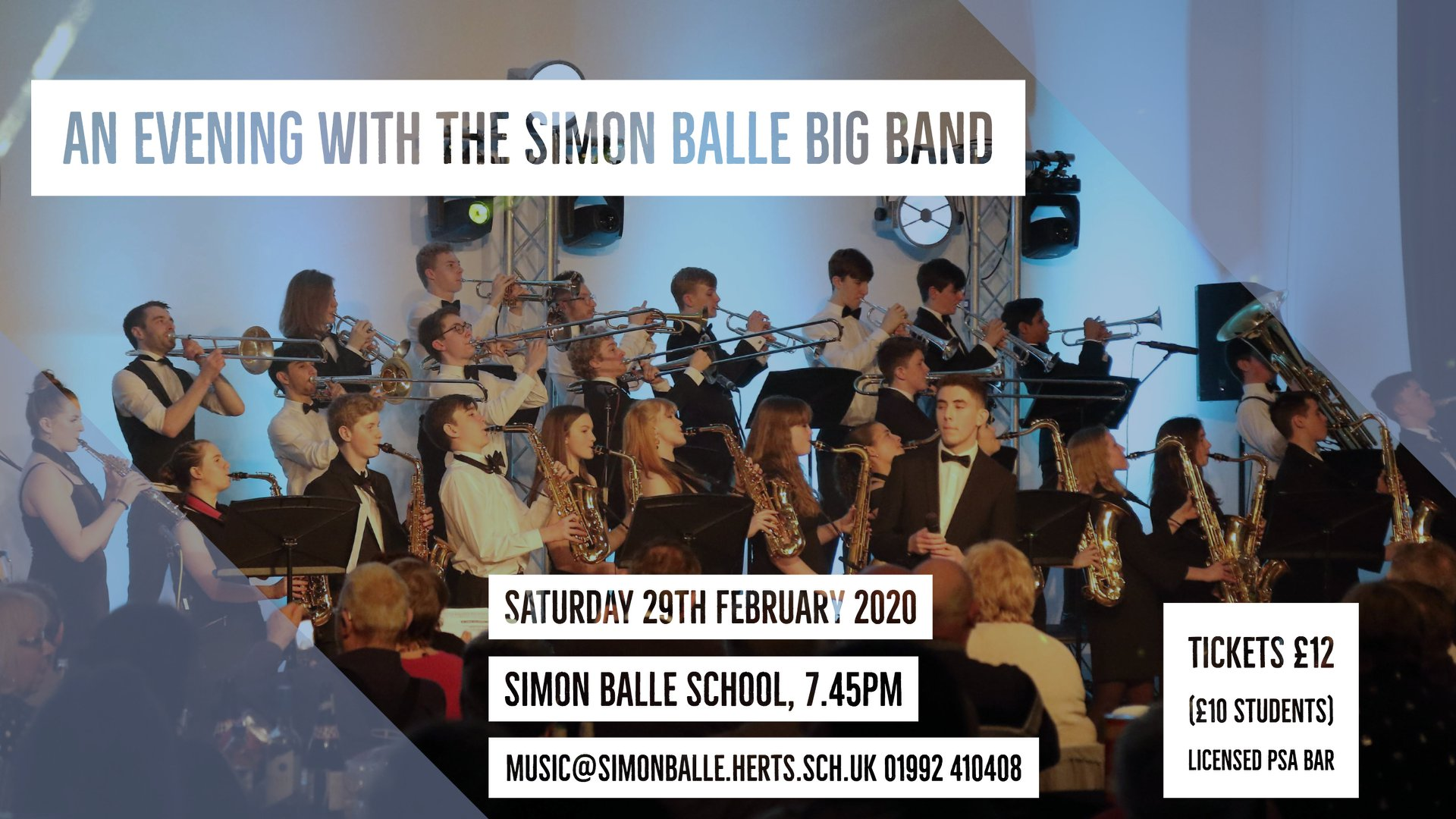 An evening with Simon Balle Big Band