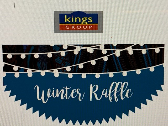Siign up for Winter raffle advertising board