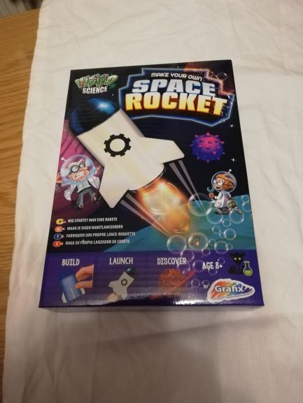 Christmas Gift - Science kit - Rocket