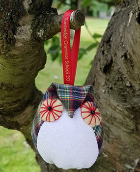 The TGS Bespoke Christmas Tree Owls - SOLD OUT