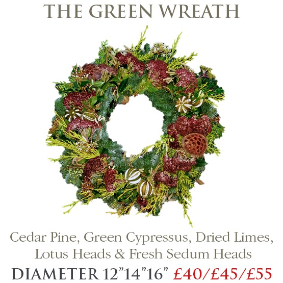 Green Wreath - LARGE