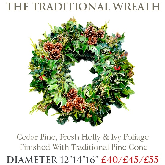 Traditional Wreath - SMALL